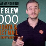 How we blew £1000 buying data and direct mail