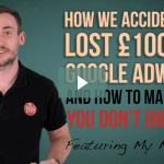how we lost £1000 on google adwords