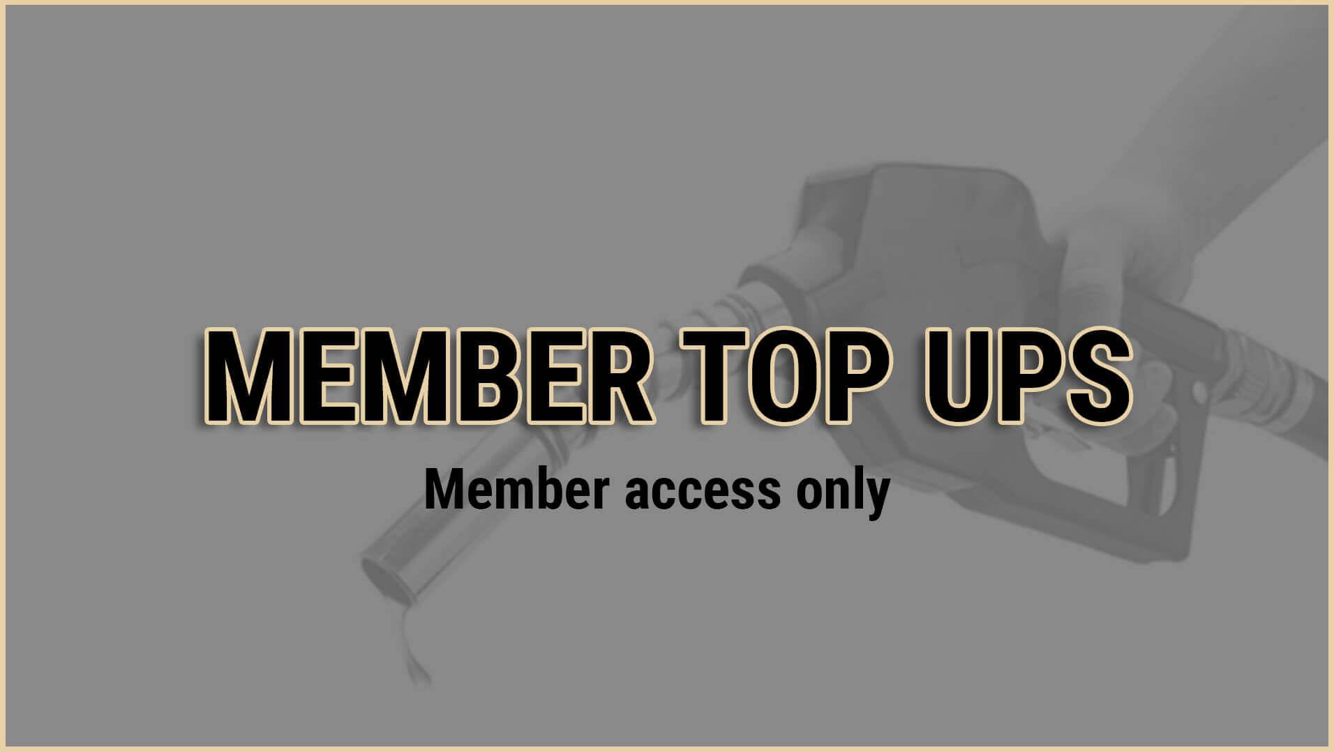 member top ups grey