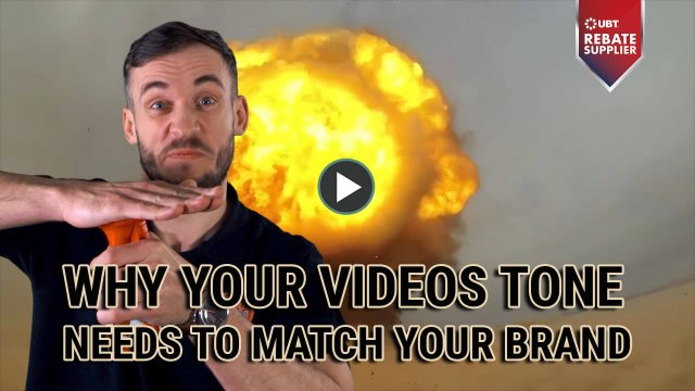 WHY YOUR VIDEOS TONE NEEDS TO WATCH YOUR BRAND
