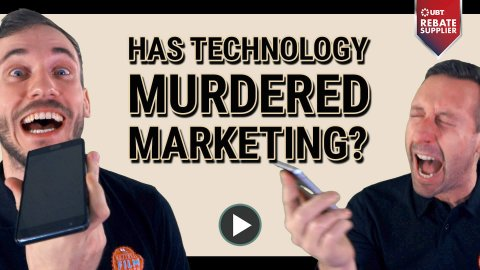 HAS TECHNOLOGY MURDERED MARKETING THUMB