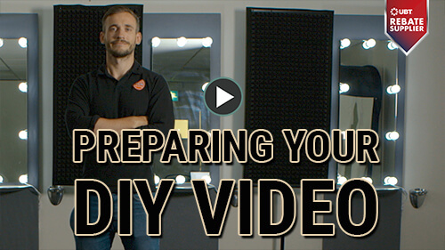 preparing your diy video content