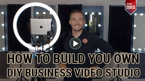 how to build your own diy business video studio