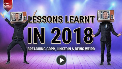 lessons learnt in 2018