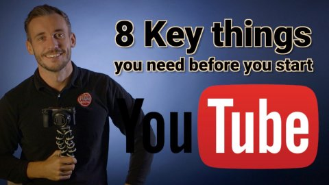8 keys things you need for your youtube channel