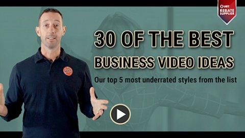 best business video ideas