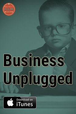 Business unplugged podcast footer