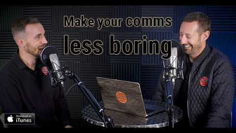 how to make your marketing and comms less boring