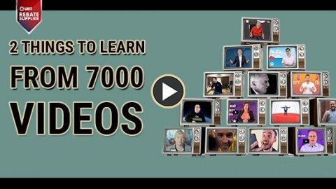 7000 videos