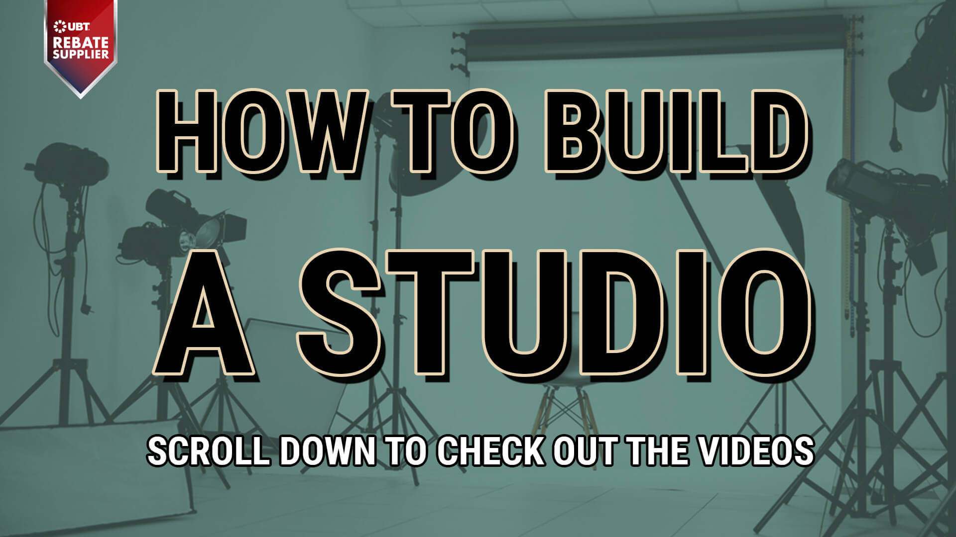 how to build and use a studio