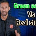 Green screen Vs Real studio