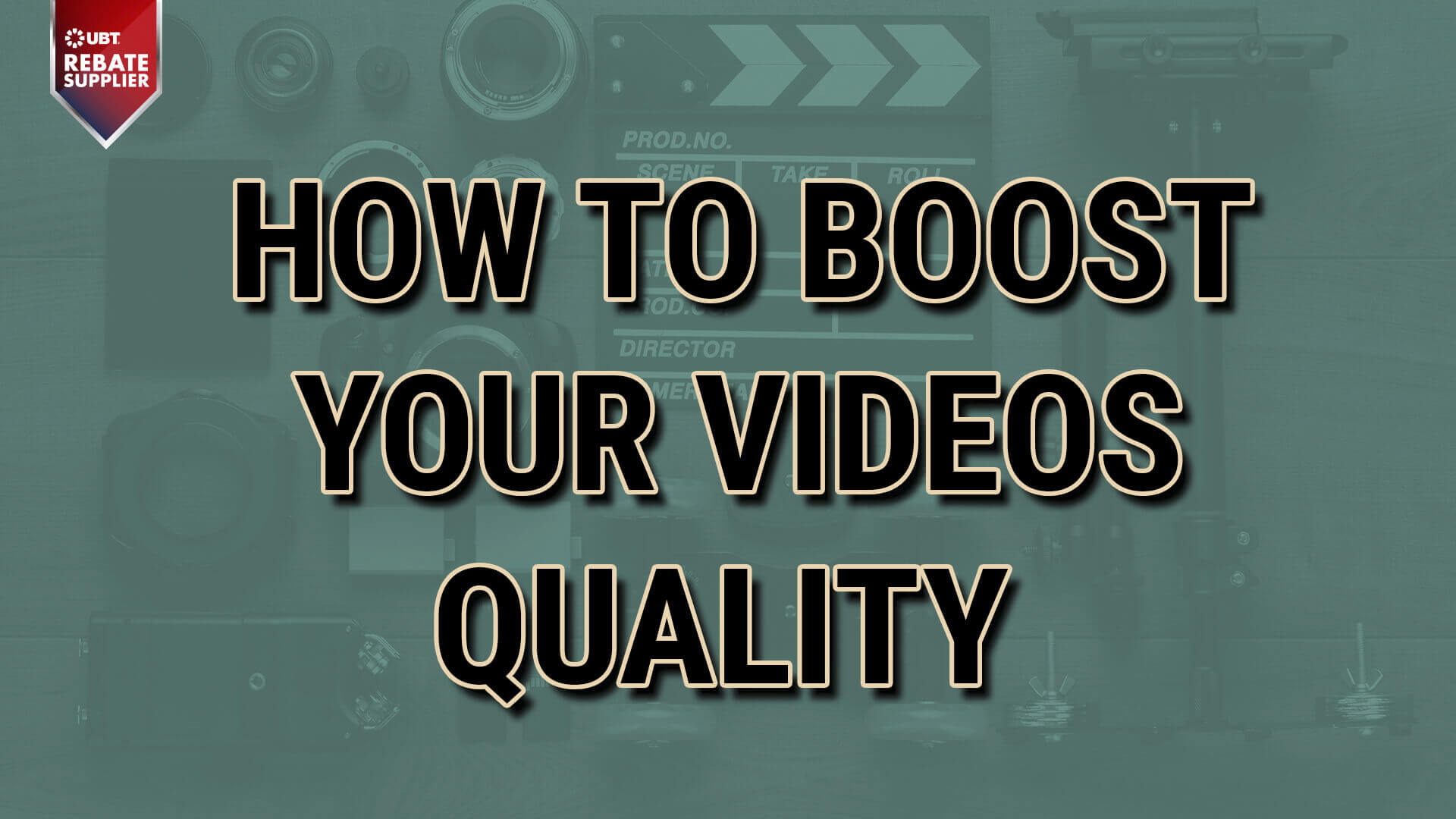 How to boost video quality