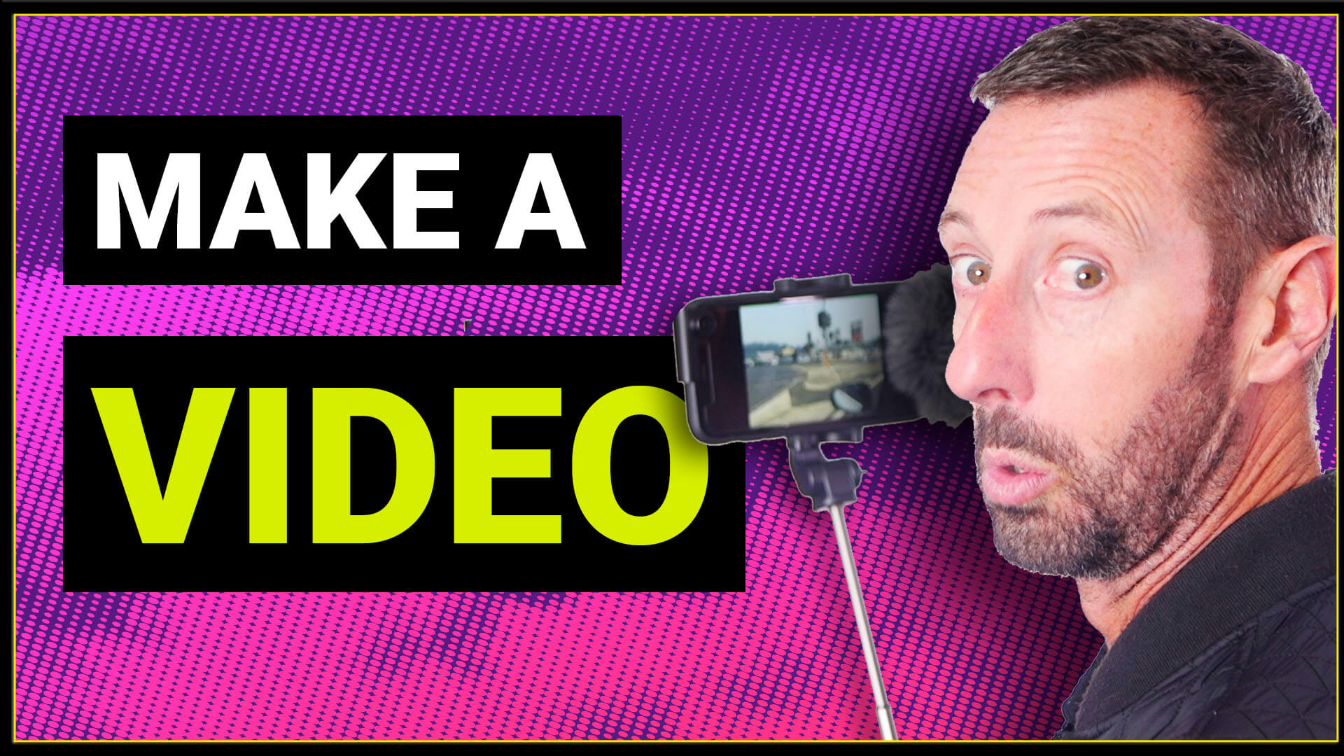 How to make a video – For businesses, YouTube or social media