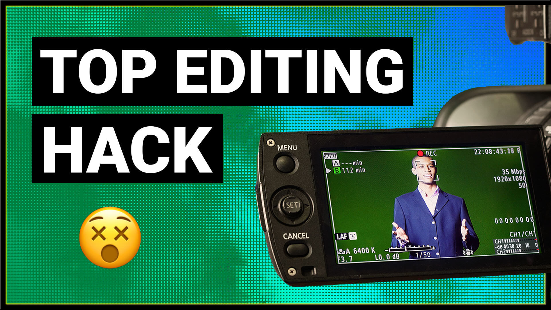 How to edit confidence in to a video