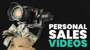 how to make personalised sales videos