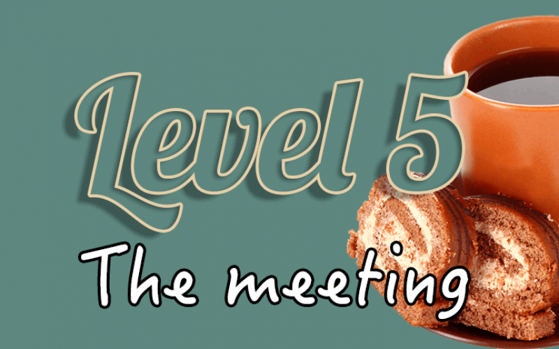 Level 5 – The meeting