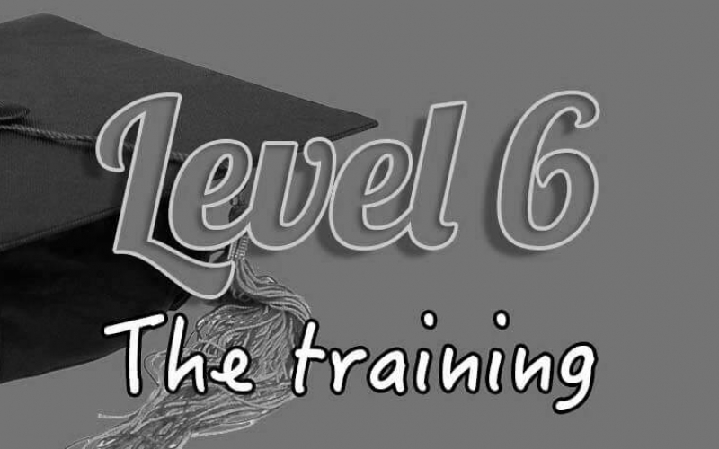 Level 6 training blacked pout