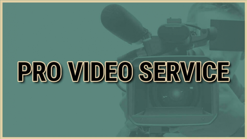 Pro video service selector